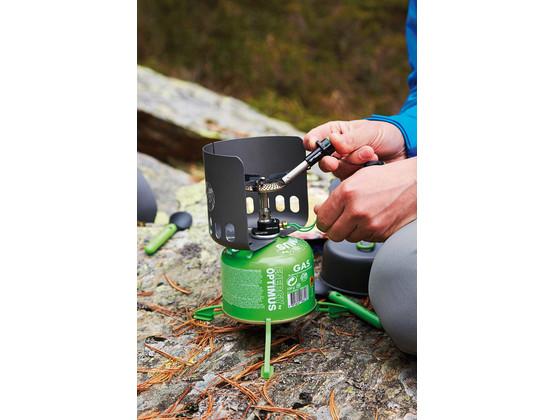 Katadyn Windschutz OPTIMUS Clip-on für Gaskartusche Outdoor Camping Windshield